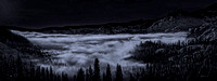 Ice Fog Moonlight o' Donner Lake