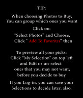 Selecting Photos Tip